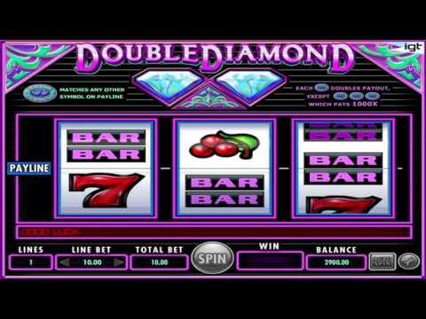 Gratuite machine à sous Double Diamond de IGT Aperçu vidéo | HEX