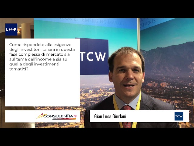 Consulentia 2019 - Gian Luca Giurlani (TCW)
