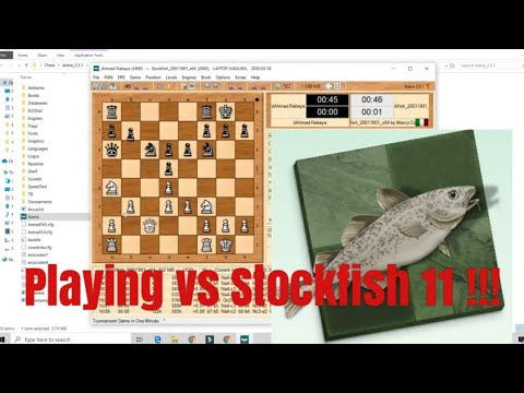 How To Install Stockfish 11 And Play Against It !!(Pc Only)