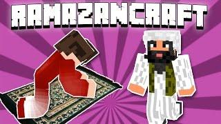 İLK ORUÇ - SAHUR ve İFTAR YAPTIK  Minecraft RAMAZANCRAFT - 2.Bölüm