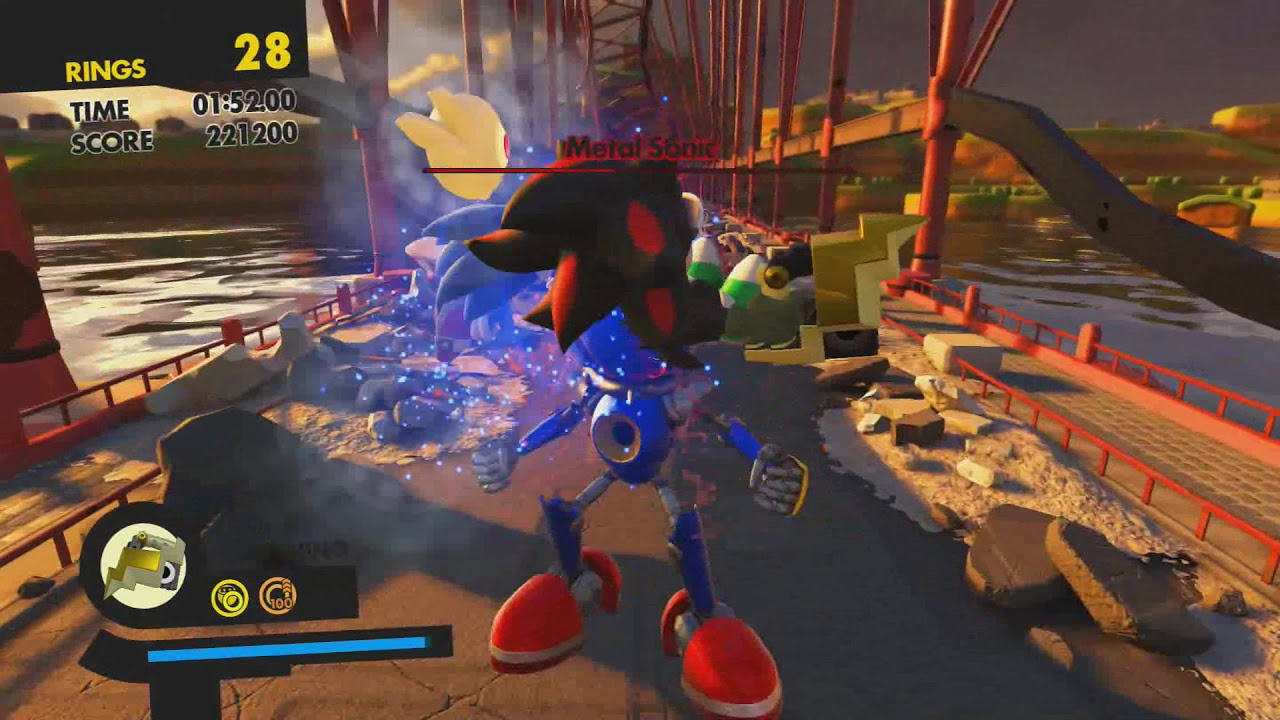 Sonic Forces Stage  Red Ring