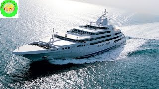 10 Most Expensive Yachts Ever Built