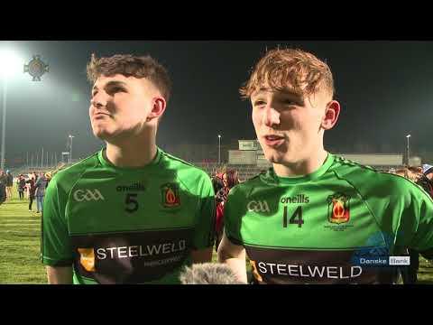 Danske Bank MacLarnon Cup Final Replay 2018 Cookstown Interviews