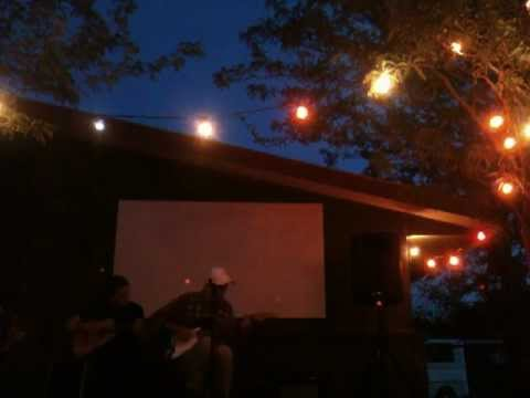 austin leonard jones & pals live at the el cosmico marfa,tx