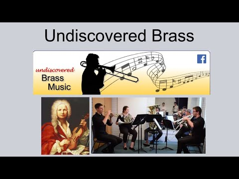 Vivaldi Allegro movement from the flute concerto in G minor (Arranged for Brass quintet)