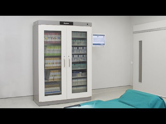 Smart Cabinet RFID - Zehnacker Healthcare launches innovative stock ma