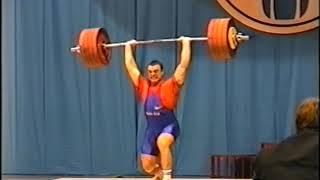 Чемпионат России по тяжелой атлетике 1998(часть 2)