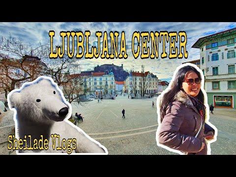 Part 1: Around Ljubljana Center(before Carnival)   Sheilade Vlogs