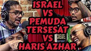 ISRAEL VS  PEMUDA TERSESAT VS HARIS AZHAR VS JIN. Ketawa Dosa‼️ - Deddy Corbuzier Podcast