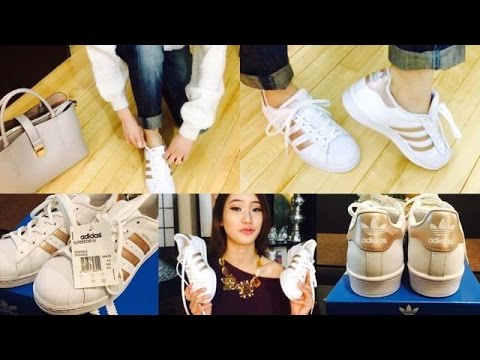 design intemporel 90eb5 44626 ADIDAS SUPERSTAR IN ROSE GOLD! | First Impressions + Review ...