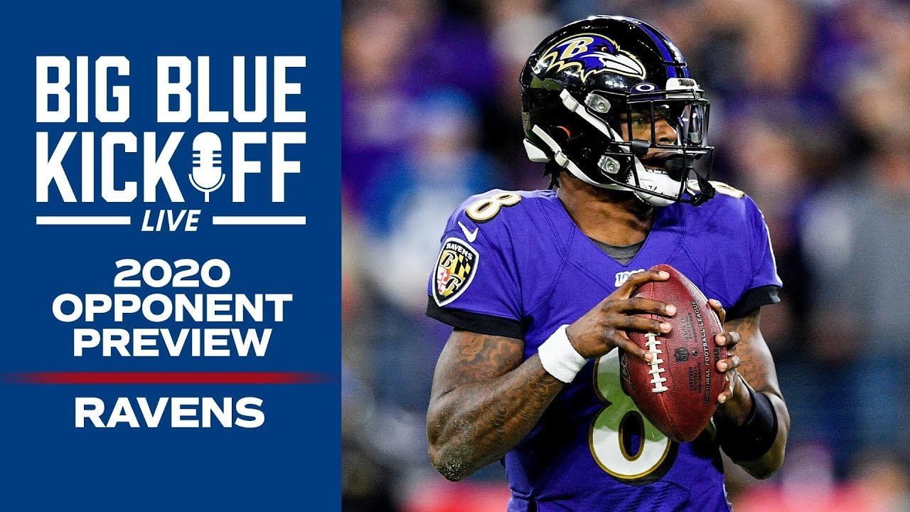 2020 Giants Opponent Preview: Ravens Analysis with Qadry Ismail | New York Giants