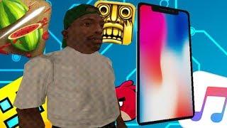 CJ Junior Juega Roblox - GTA San Andreas
