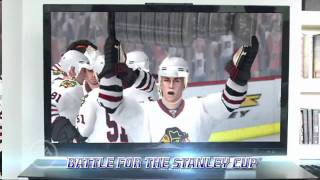 NHL Slapshot featuring Wayne Gretzky - Wii - official video game preview trailer HD
