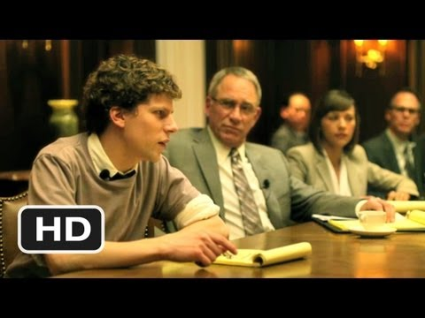 The Social Network #10 Movie CLIP - Your Full Attention (2010) HD poster