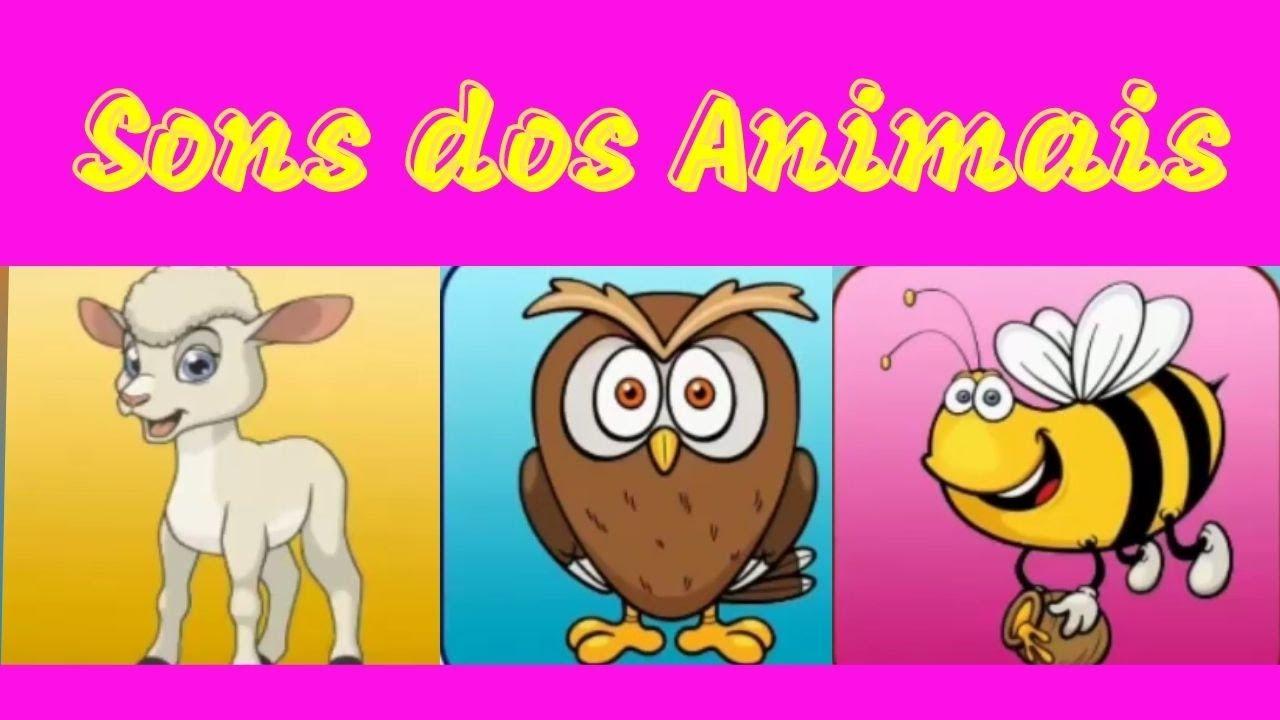 Aprendendo o Sons dos Animais - Joguinho Educacional Para Crianças   ABC KIDS BRASIL