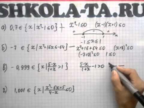 Алгебра 9 кл. Мордкович. Параграф 3.6