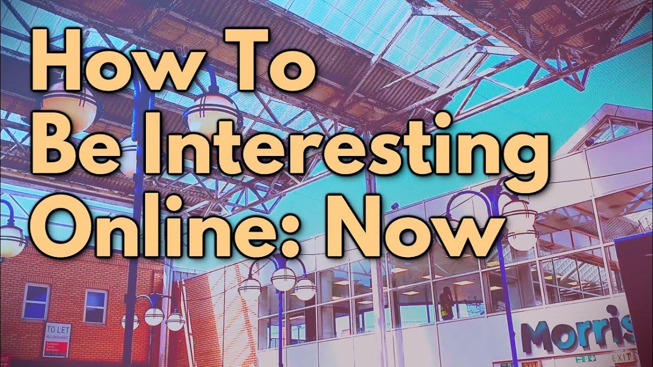 How to Be Interesting Online ft. Tehsnakerer |8 Bit Brody|