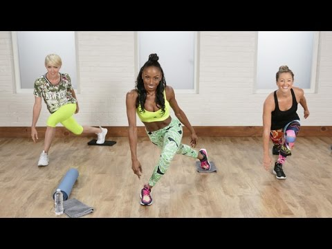 A Flat-Belly And Tight-Booty Workout Celebs Love | Class FitSugar