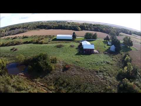 Paul & Bonnie Siegfried Aerial Tour - Hancock County, IL