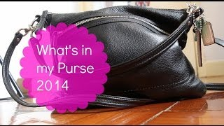 What's in my Purse 2014 ! ♡ Thumbnail