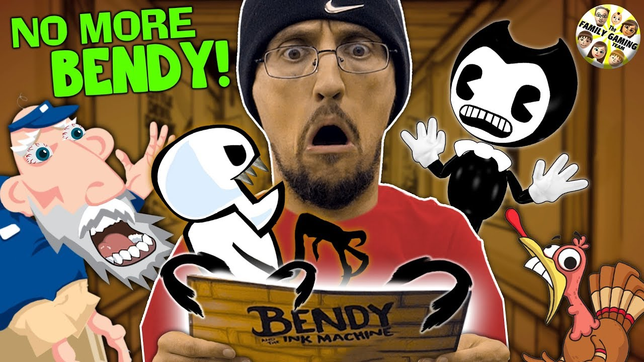 NO MORE BENDY & THE INK MACHINE: The Magic Gurkey Letter to FGTEEV (Chapter 5 skit)