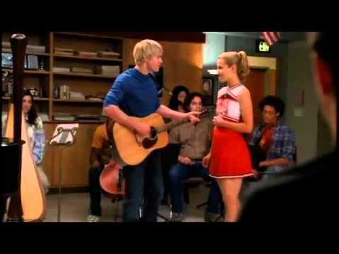 Glee Season 2 (Lucky I'm Inlove) - Quinn and Sam duet