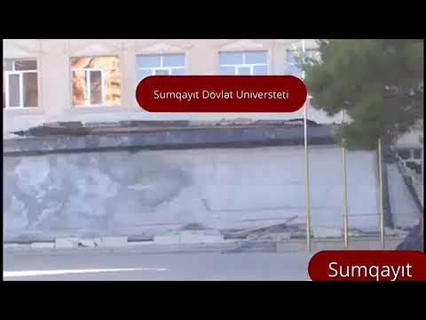 Sumqayıt Dövlət Universiteti Dağılır.