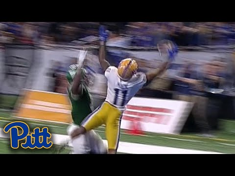 Pittsburgh's Taysir Mack Seals The Deal For Pitt With Game-Winning TD Reception