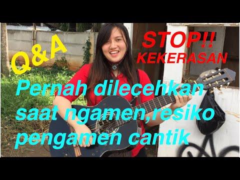 Hidup di Jakarta keras bro!!!Pengamen cantik ini sudah ngamen sejak kecil
