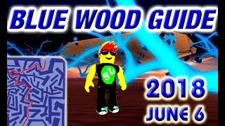 Roblox Lumber Tycoon 2 Blue Wood Maze Guide Road Map - 06.06.2018
