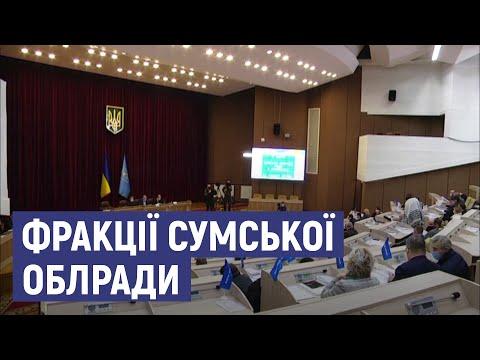 Суспільне Суми: Оголосили депутатські фракції, затвердили стратегічний план розвитку - II засідання Сумської облради
