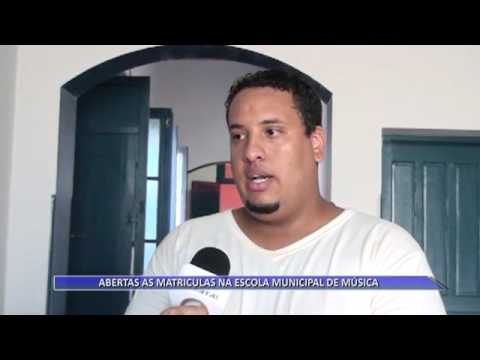 05 04 16  ABERTAS AS MATRICULAS NA ESCOLA MUNICIPAL DE MÚSICA