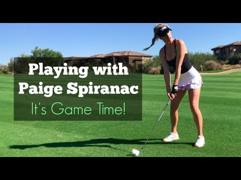 It's Game Time! // Playing with Paige Spiranac