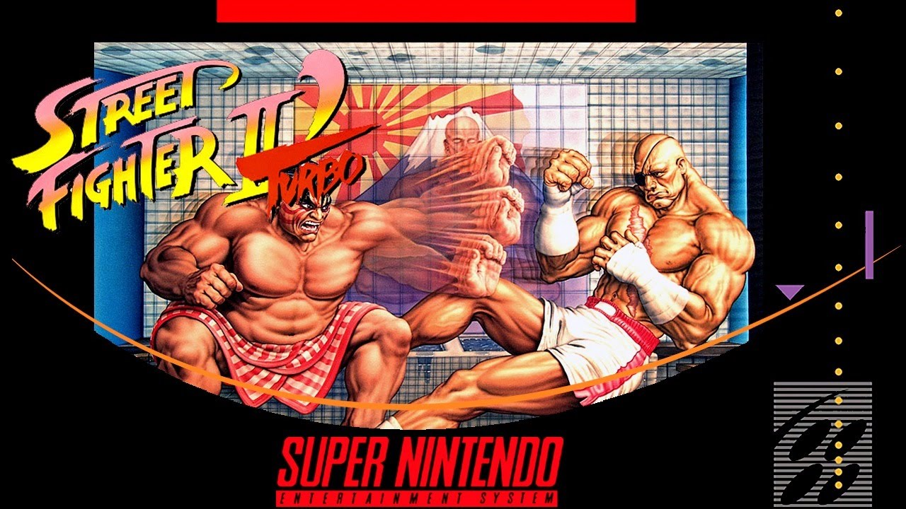 Street Fighter Ii Turbo Hyper Fighting Super Nintendo Youtube