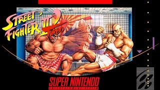 Street Fighter II Turbo: Hyper Fighting [Super Nintendo]