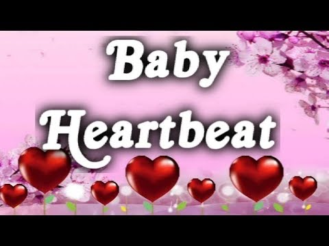 ▶️-heartbeat---fetal-heartbeat-sound-effect.-white-noise-for-babies.-12-hours-📢