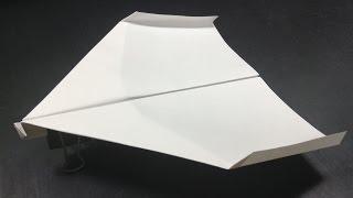 ギネス認定[折り紙origami]世界一飛行時間が長い紙飛行機の折り方   The best in the world paper airplane thumbnail