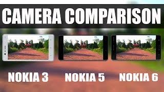 nokia 3 vs nokia 5 vs nokia 6 camera test comparison