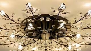 Modern K9 Crystal LED Flush Mount Ceiling Chandelier Lights Fixture