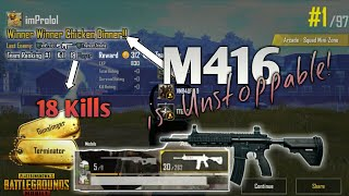 M416 is UNSTOPPABLE! ' PUBG Mobile