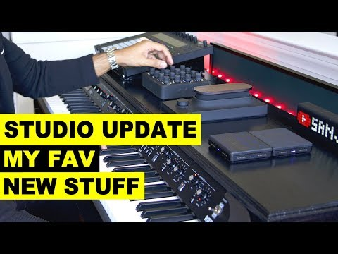 Music Studio Update - New Music Production Gear And Plugins