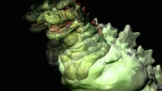 Digital Sculpture by Eric Fournier: Godzilla Slideshow