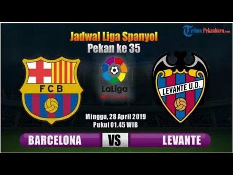 Link Live Streaming SCTV Barcelona Vs Levante Siaran Langsung Di Liga Spanyol, Skenario Messi Jua...