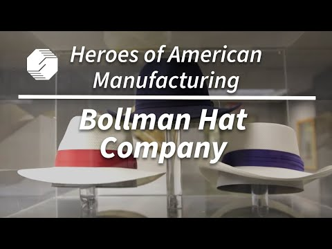 Heroes of American Manufacturing: Bollman Hat Company | NIST