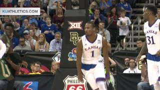 Kansas Defeats Baylor in Big 12 Semifinal // Kansas Men's Basketball // 3.13.15