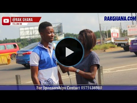 Who betrayed Jesus? MUST WATCH FUNNY VIDEO - rakGhana.com's street quiz