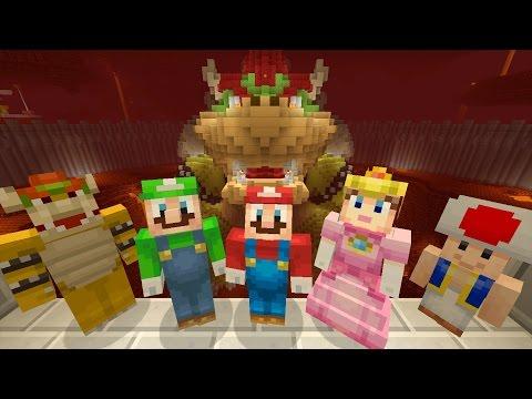 Minecraft Wii U - Super Mario Series - Saving Princess Peach [FINAL LEVEL] [77]