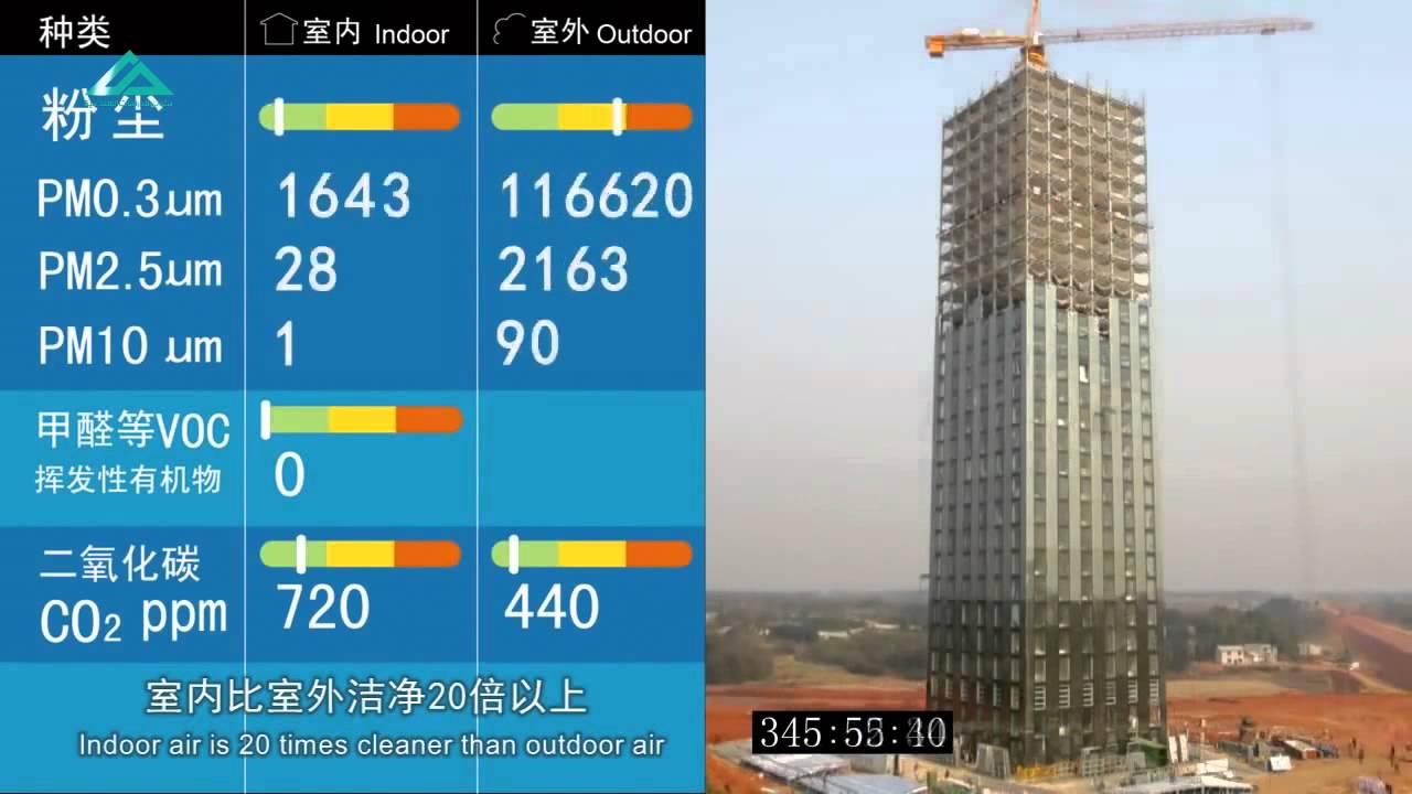 Image result for بناء برج من من ٣٠ طابق في ١٥ يوم في الصين