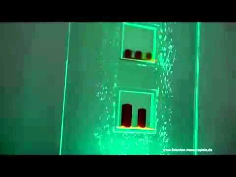 fleischer wasserspiele_ wasserwand 800 _durchblick_.mp4 - youtube, Garten und bauen