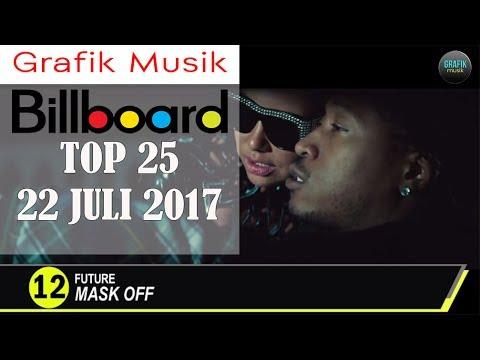 25 Lagu Barat Populer, 22 Juli 2017 - Prambors & Billboard Hot 100